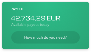 DynamicPay payout available